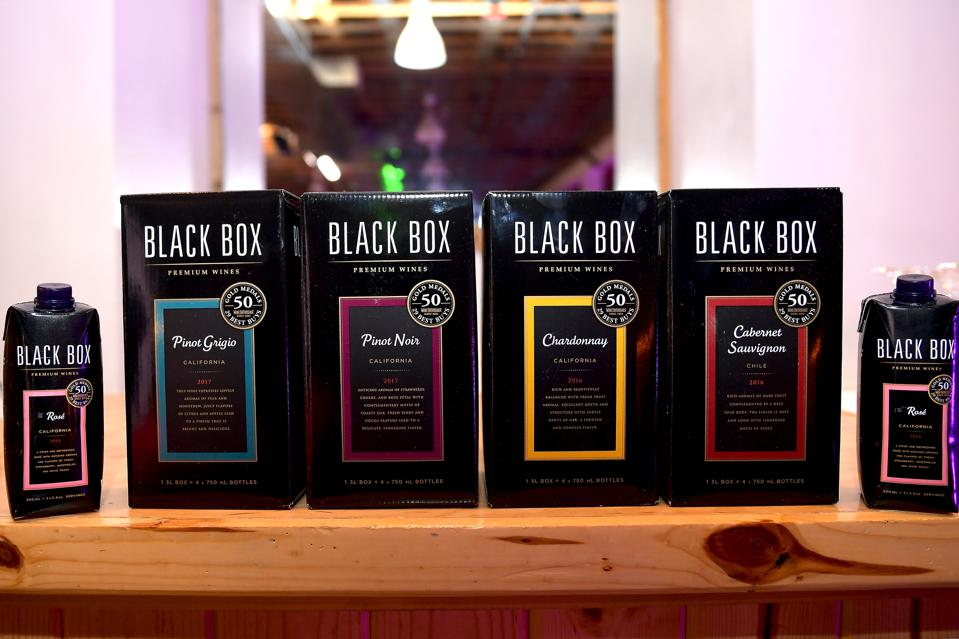 Black Box Wine is served during the 2018 Mammoth Lakes Film Festival in California.