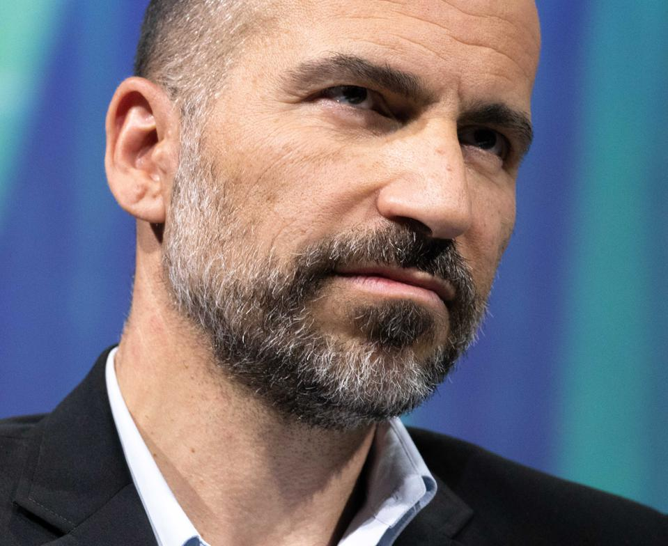 Dara Kowsrowshahi, chief executive officer of Uber. Photo by Christophe Morin/IP3/Getty Images
