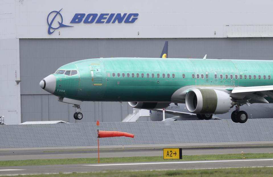 Boeing Grounded Planes