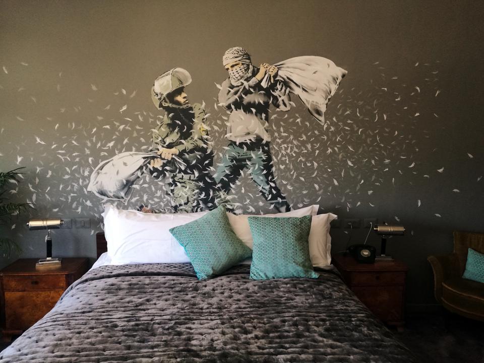 Decoration, chambre d'hôtel