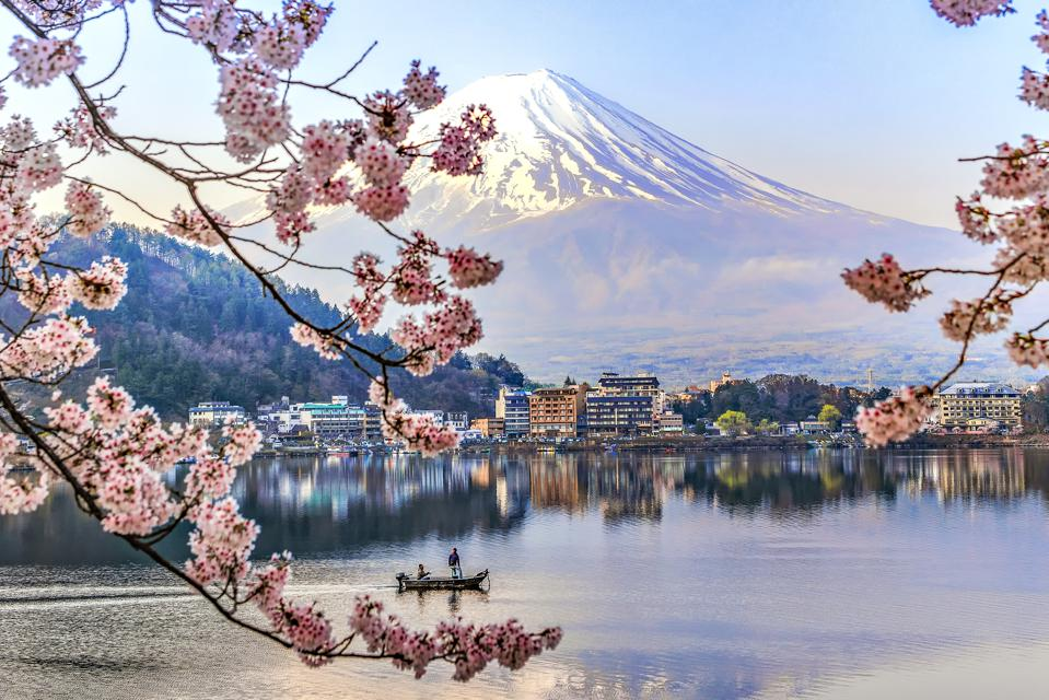 Fuji Mountain Japan tourism