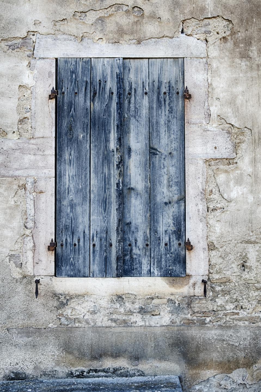 Weathered Blue Door
