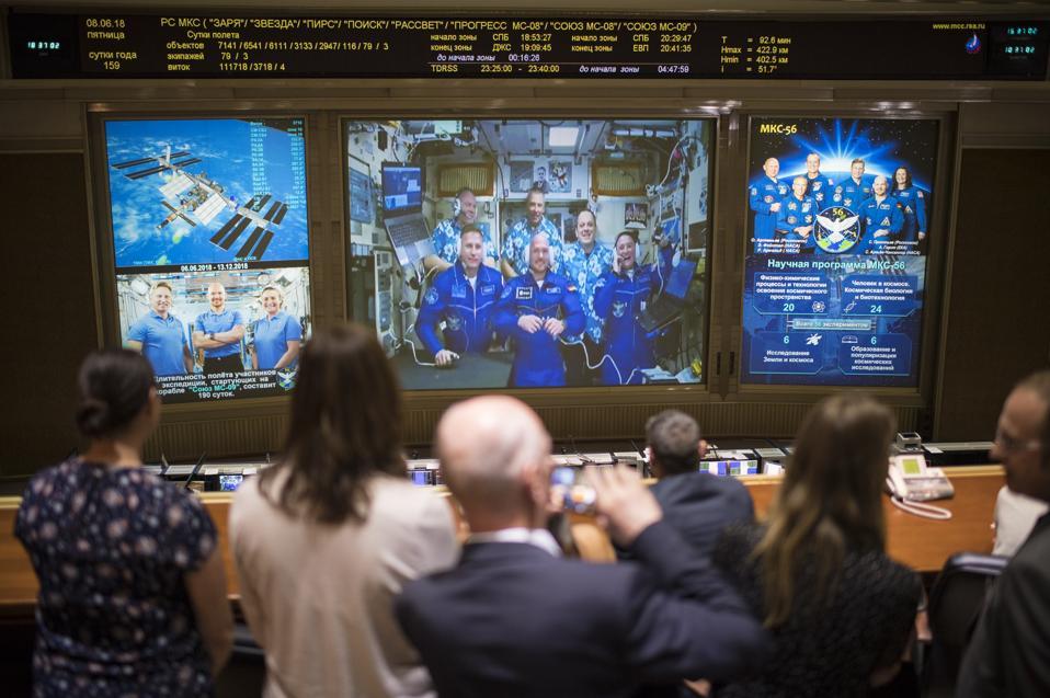 Expedition 56 Soyuz Docking