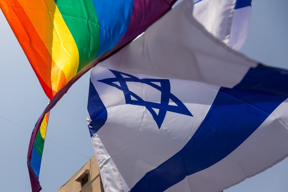 20th Pride Parade In Tel Aviv