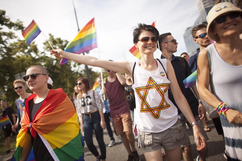 Gay Pride Parade In Warsaw