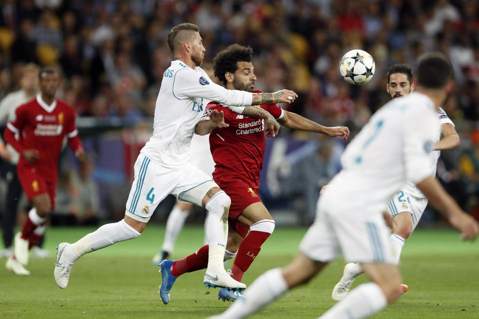 UEFA Champions League″Real Madrid v Liverpool FC″