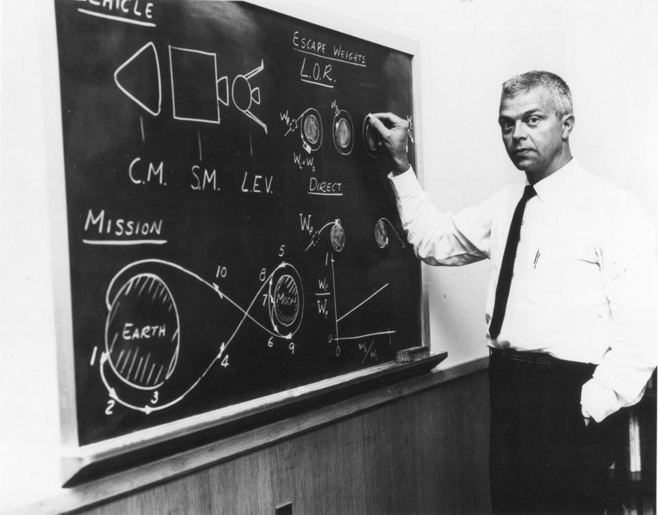 Dr John Houbolt Explains LOR