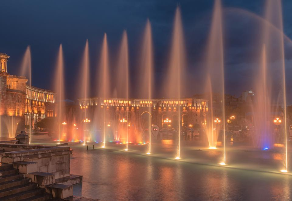 The Fountains of Republic Square, Yerevan