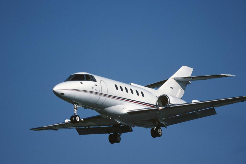 Private jet charter prices are dropping