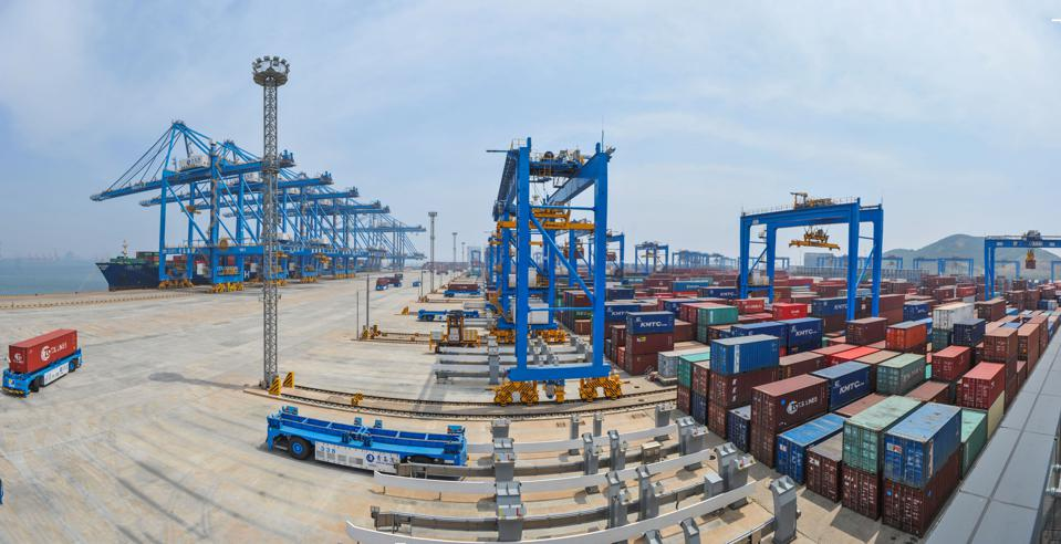 Fully Automated Container Terminal In Qingdao