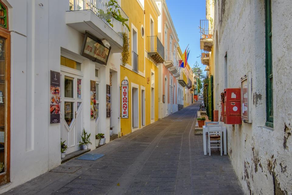 Santa Marina Salina Old Town (Sicily, Italy)