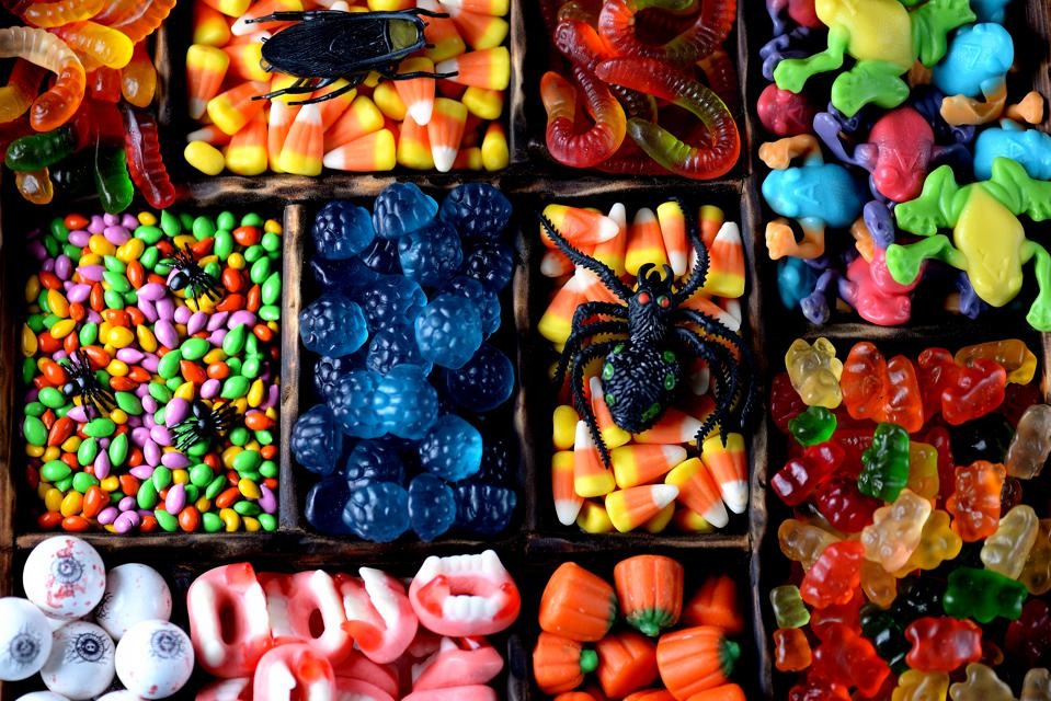 Different candy