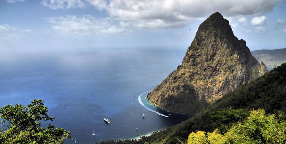 The Pitons of St Lucia