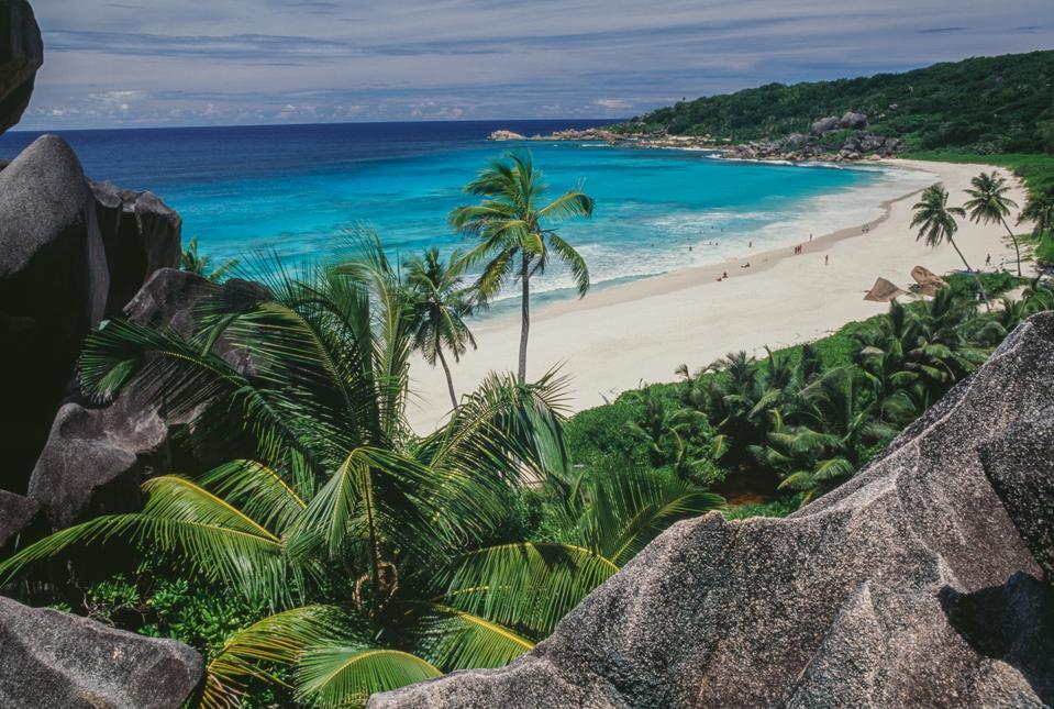 Anse Source d'Argent beach, La Digue island