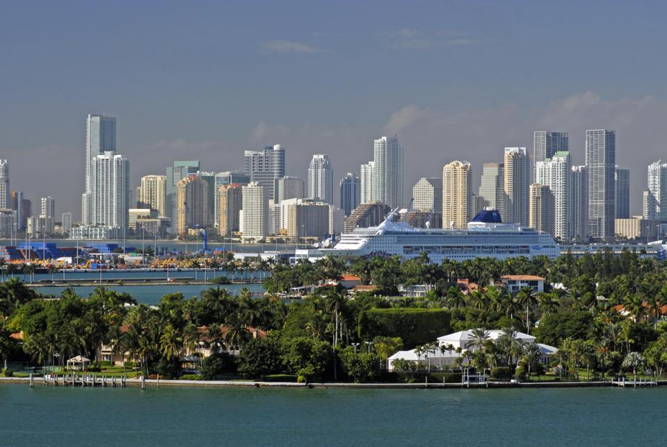 View of Miami, Florida, United States of America
