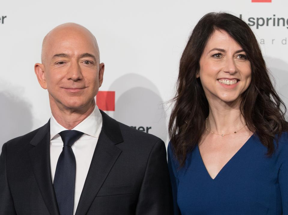 Mackenzie Bezos Is Now Officially World S Third Richest Woman