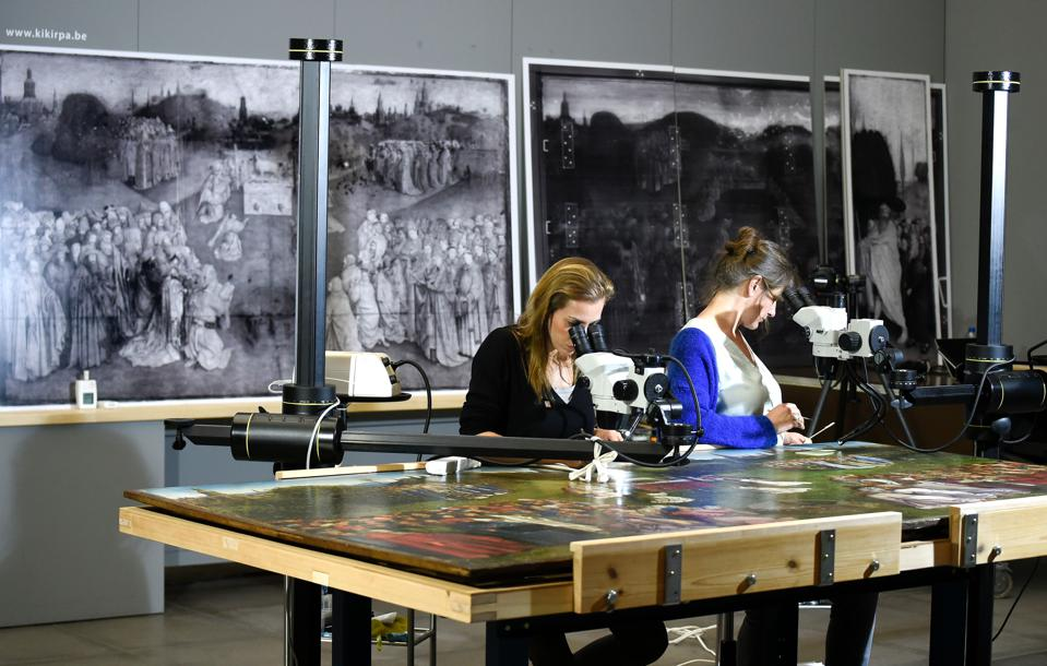 Both Sides Now: Looking At Two-Sided Paintings With X-Rays And AI