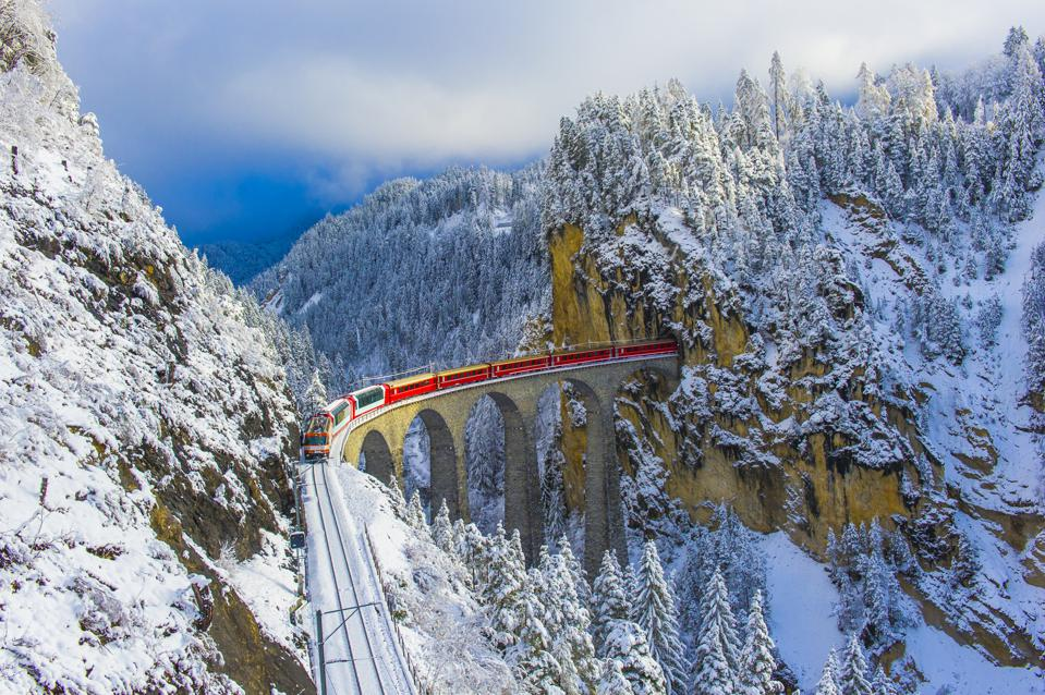 The Best Way To Experience Winter Is By Train