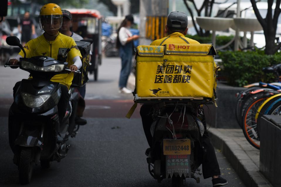 CHINA-STOCKS-INTERNET-IPO-MEITUAN
