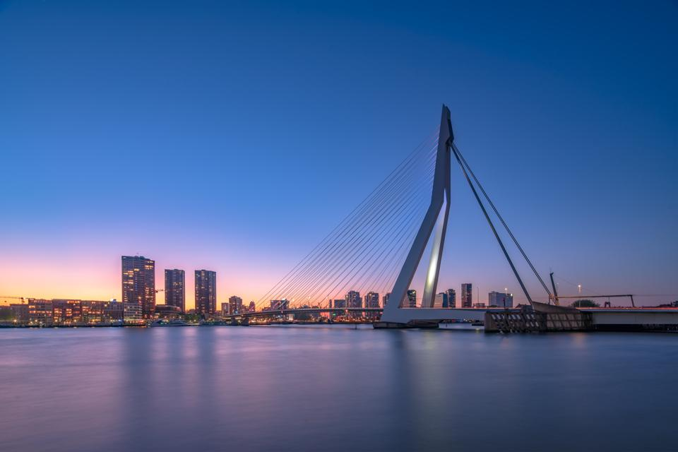 Rotterdam Skyline, Netherlands, Europe