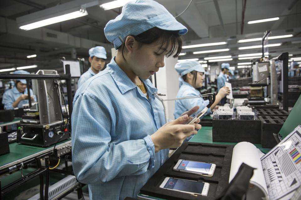Smartphone Factory Shenzhen China