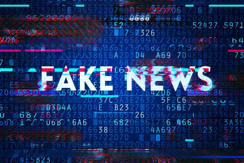 Fake news on internet in modern digital age