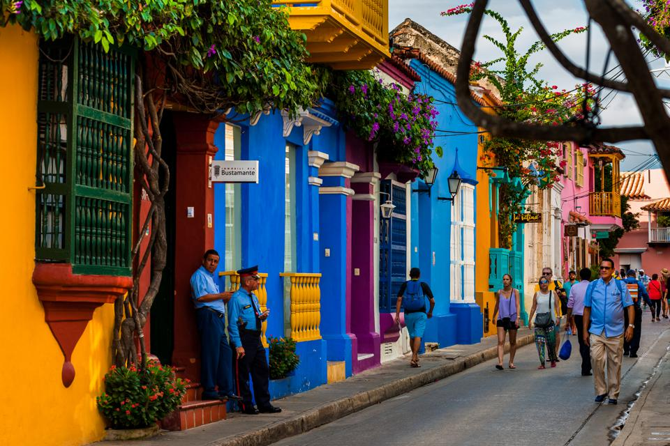 Colombia Experiences Tourism Boom in Cartagena