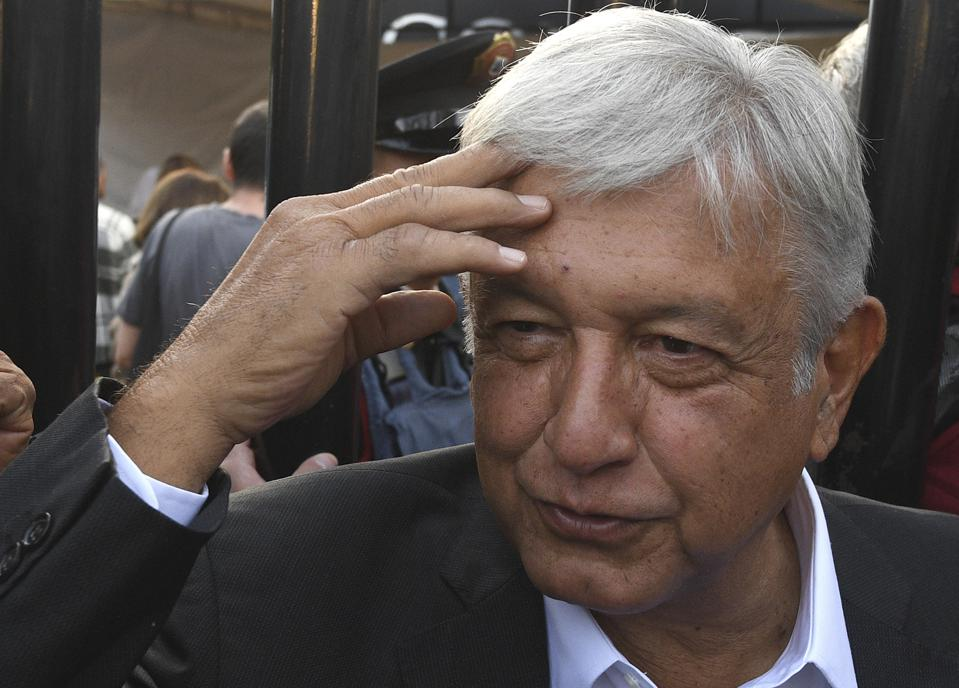 MEXICO-ELECTION-VOTE-LOPEZ OBRADOR