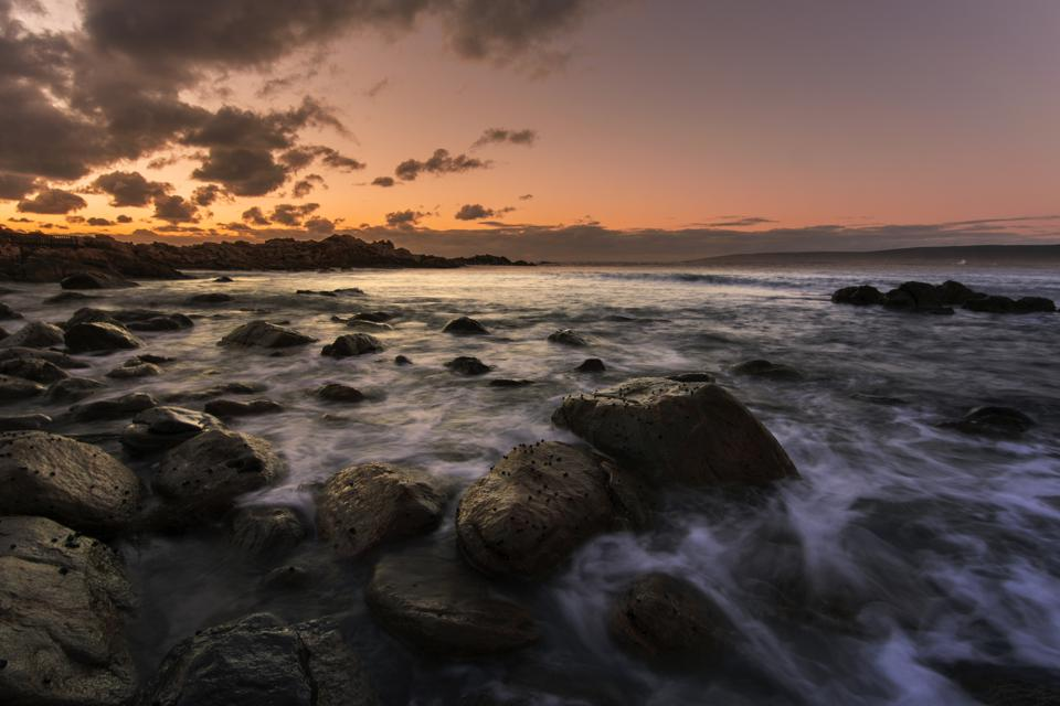 Sunset at Canal Rocks.
