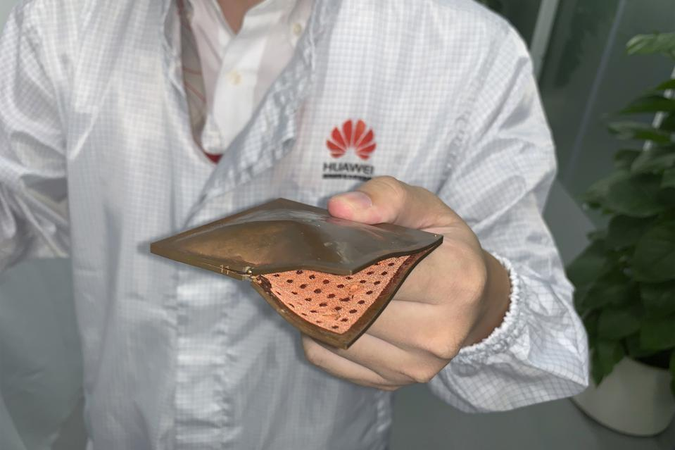 China Huawei New Tech Competitor