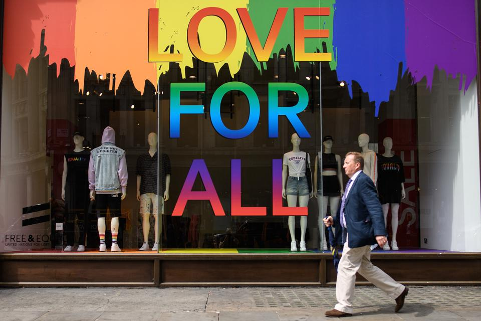 London Prepares For Pride 2018