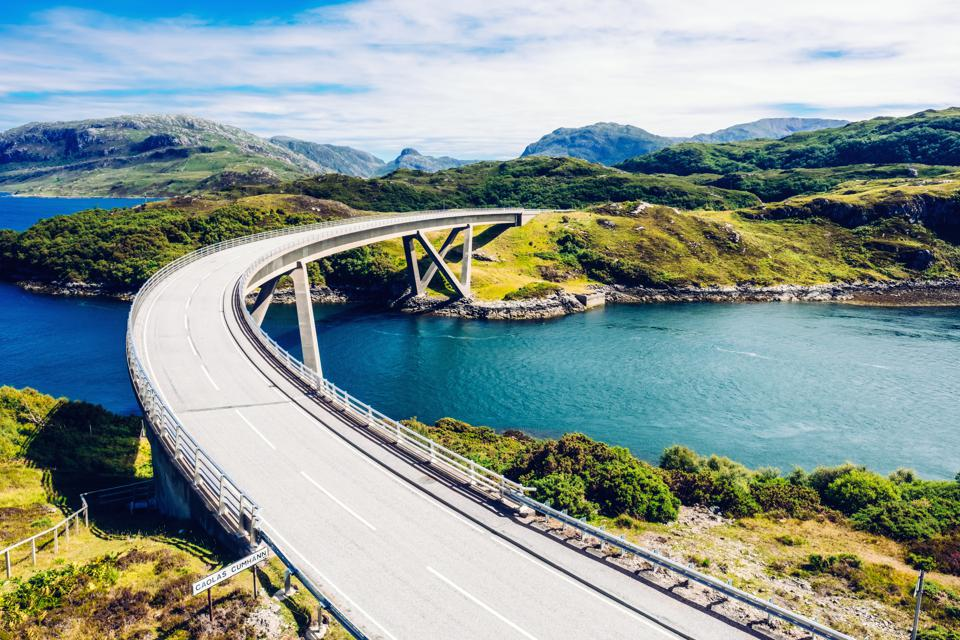 Kylesku Bridge, Sutherland, Scotland