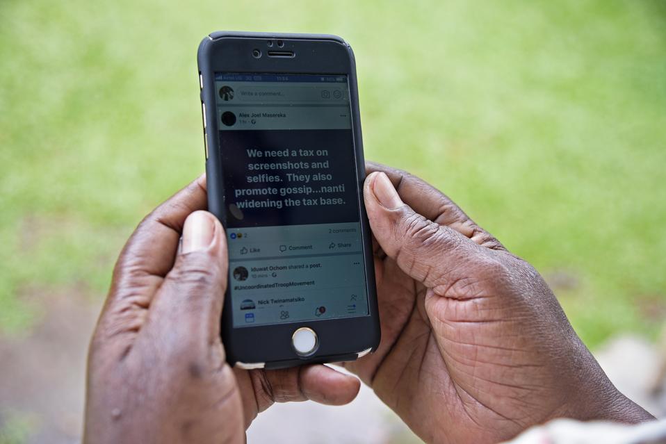 UGANDA-INTERNET-TAXATION