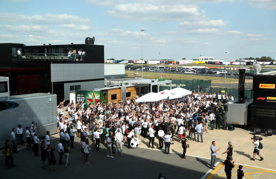 More than 1,000 staff are required to hold an F1 race (David Davies/PA Images via Getty Images)