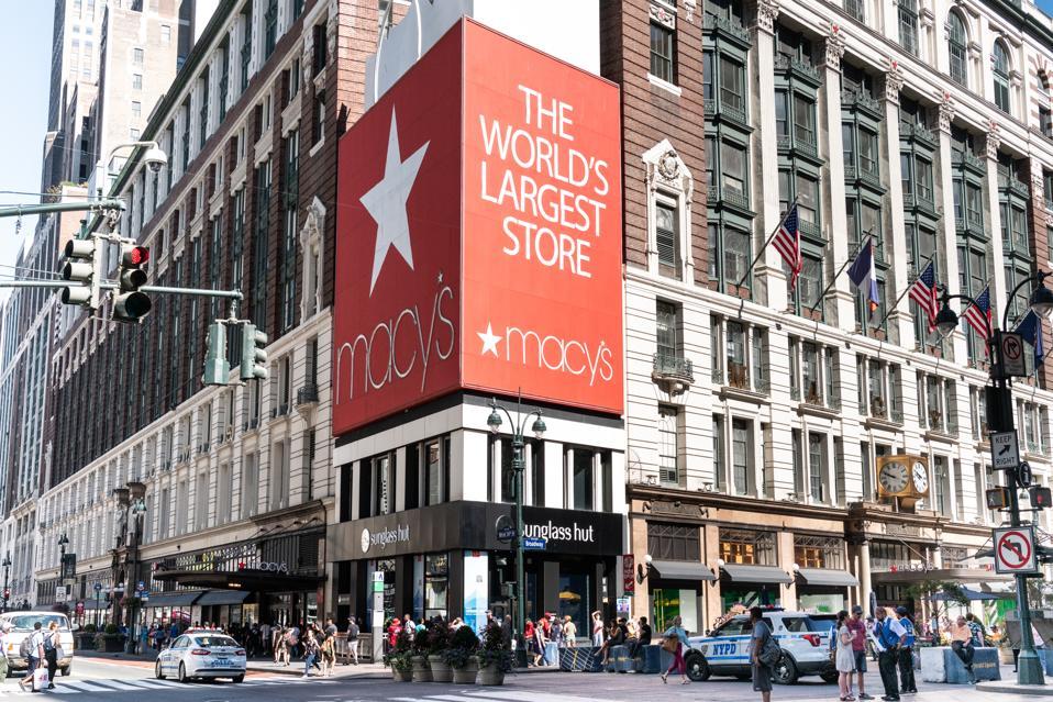 Macy's store in New York City...