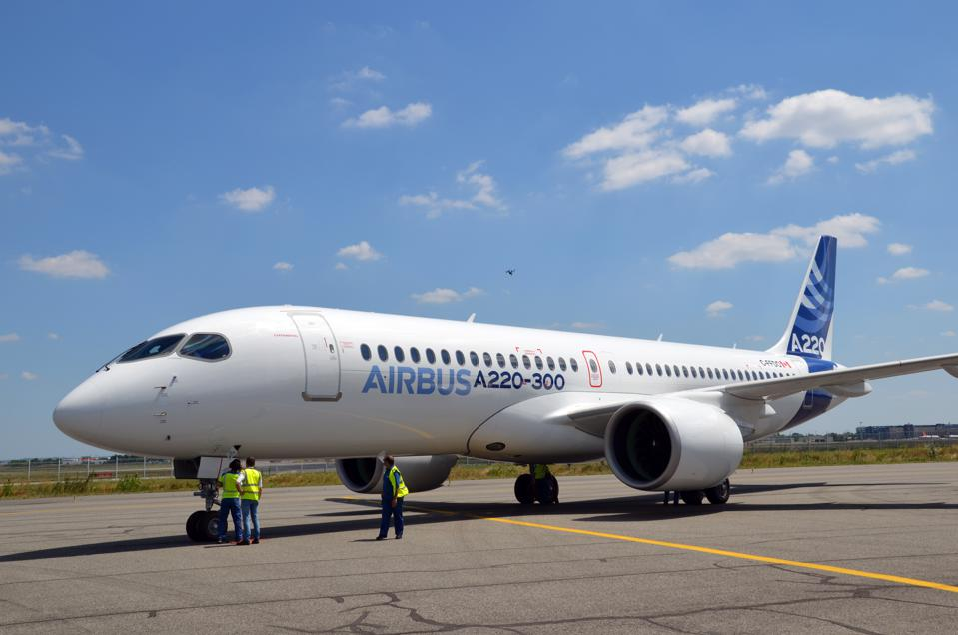 Airbus renames C-Series in A220