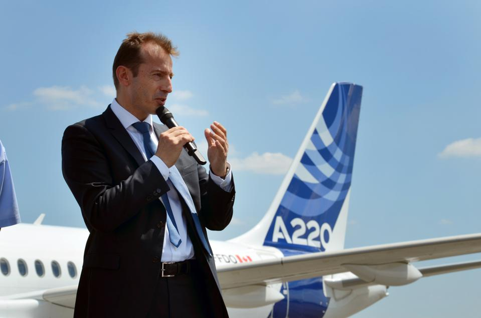 Airbus Buys Bombardier Out Of Commercial Aviation For $591 Million