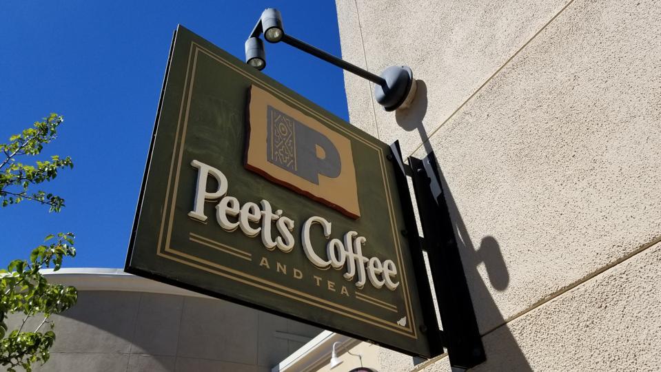 Peet's Coffee and Starbucks