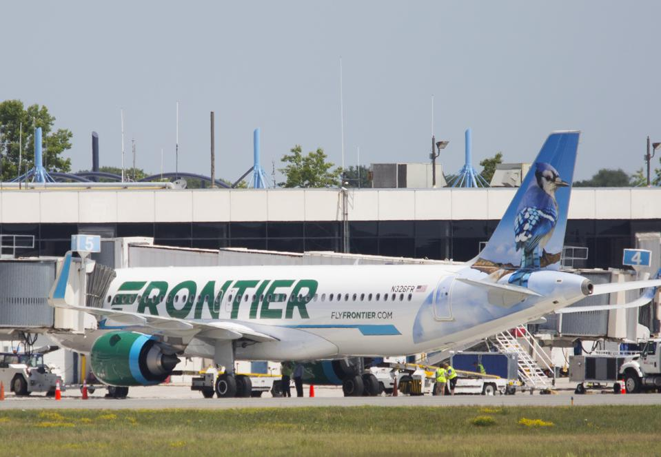 Frontier Airlines. It's one of the best airlines to fly this fall.