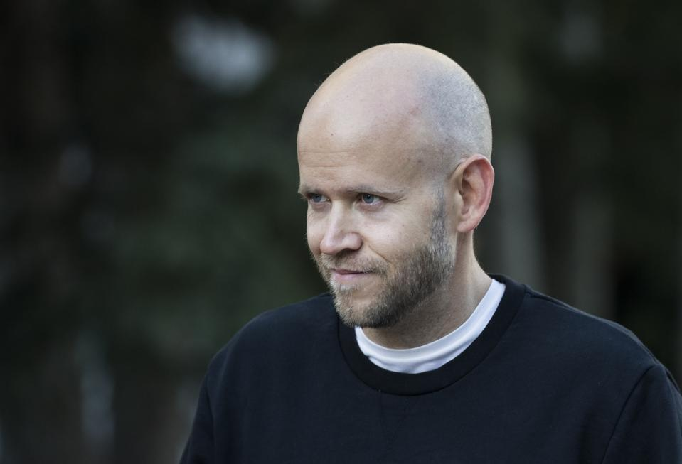 Spotify's Daniel Ek at Allen & Company Sun Valley Conference
