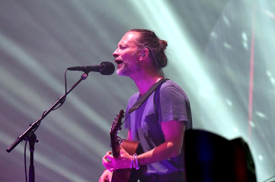 Radiohead In Concert - New York, NY