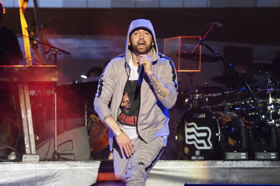 Eminem Spotify Top Artists of the Decade
