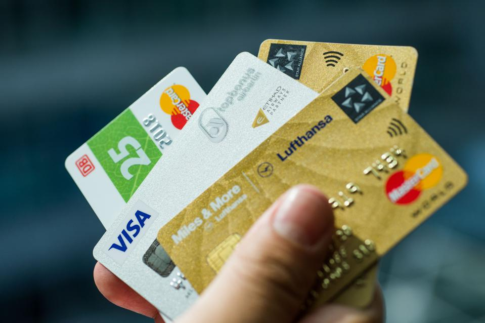 Credit cards from private companies