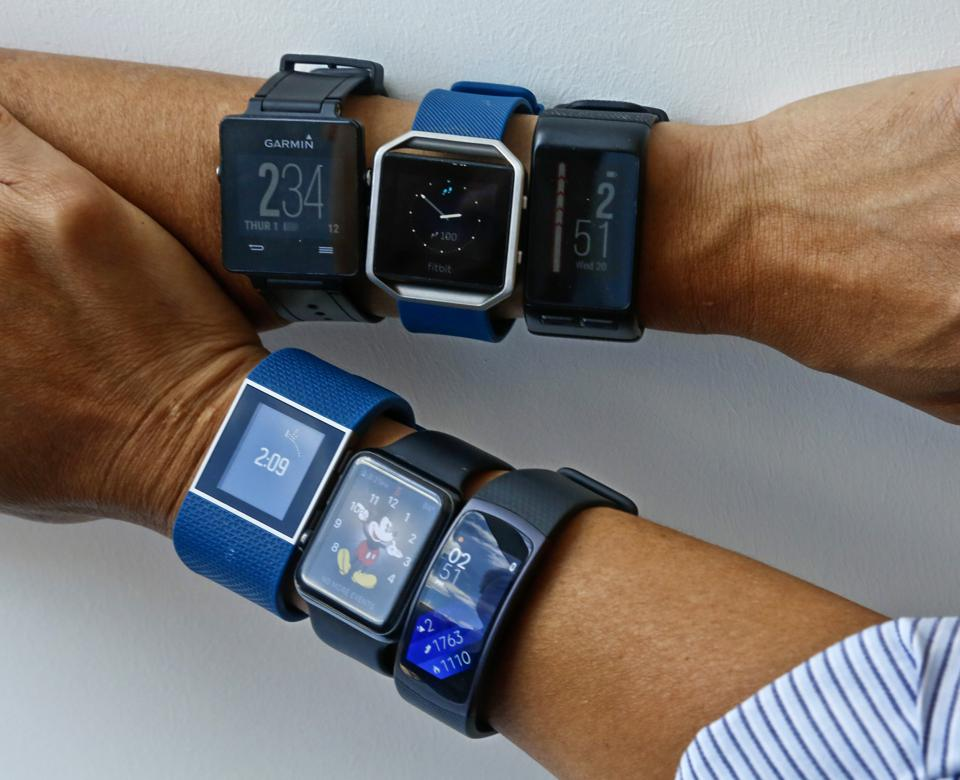 Fitbit's Dominance Diminishes But Wearable Tech Market Bigger Than Ever