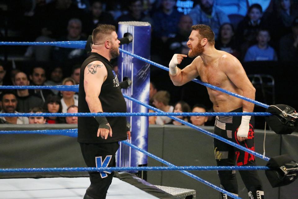 WWE Smackdown Philadelphia: Kevin Owens and Sami Zayn