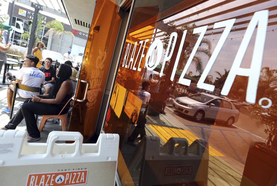 Blaze Pizza outlet