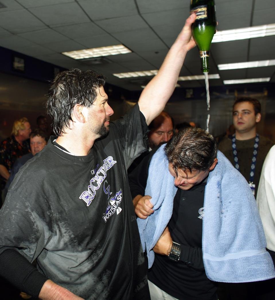 Brewers Rockies Baseball