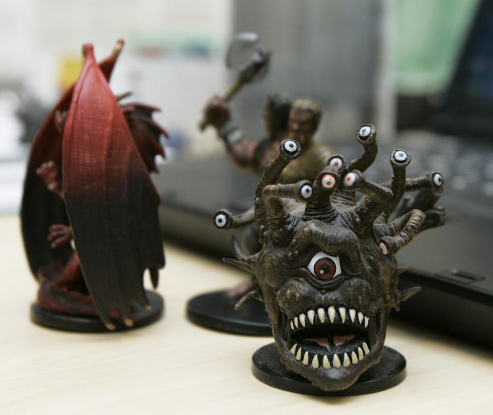 Business of Life, dungeons & dragons, dnd, beholder
