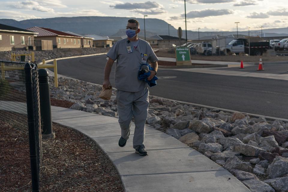 Virus Outbreak Helping Navajo
