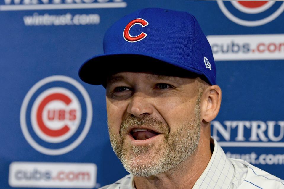 Cubs Ross Baseball